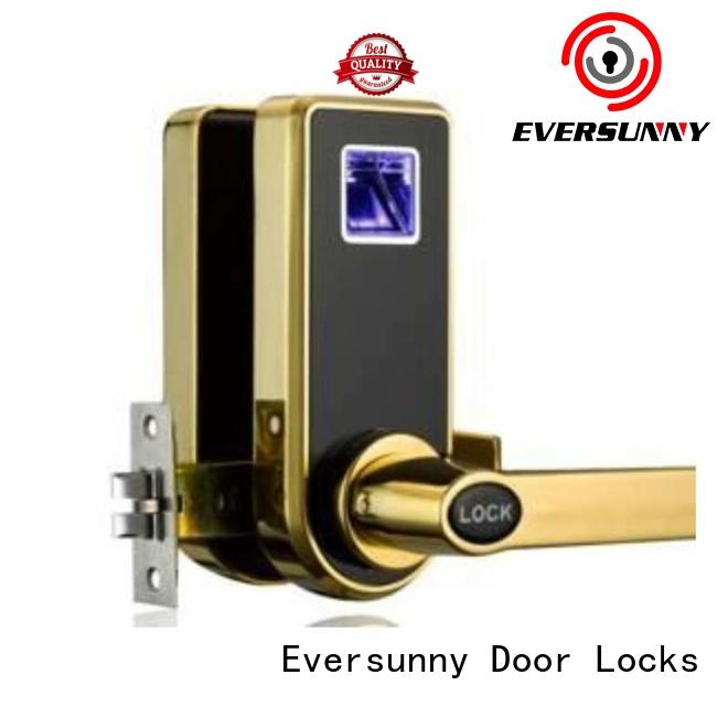 durable best fingerprint door lock zinc handle