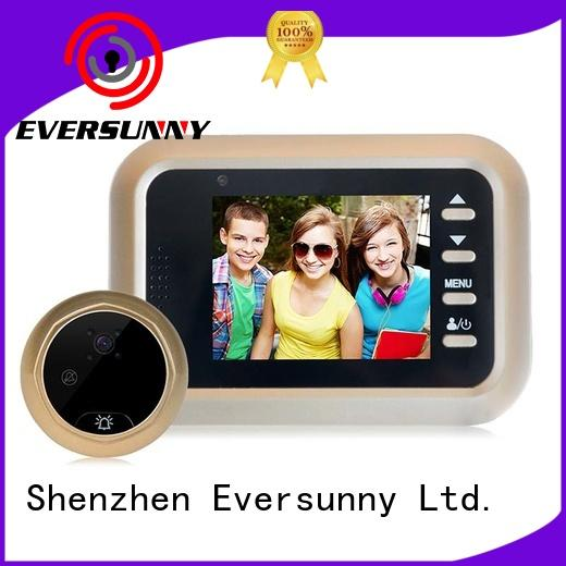 Eversunny electronic smart digital door viewer power-saving for aluminium door