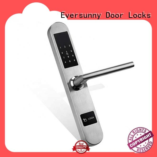 Eversunny electronic key code lock energy-saving for door