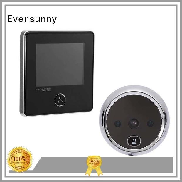 Eversunny multiple-digit digital peephole security camera for broken bridge