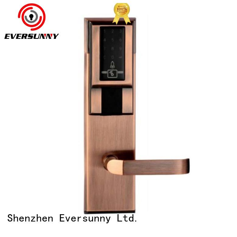 Eversunny electronic pin code door lock touch screen for hotel