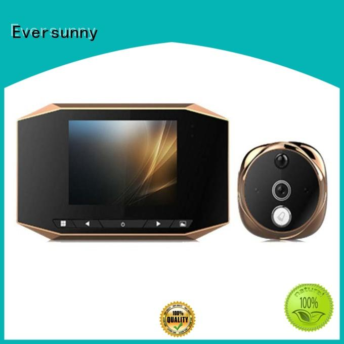 Eversunny version motion activated digital peephole lens for apartment