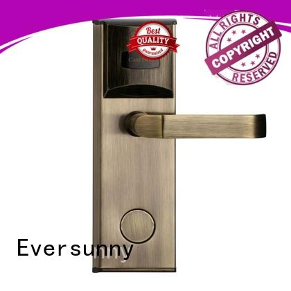 Eversunny hotel card lock system with central management control system for apartment