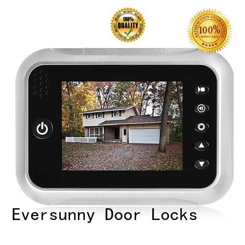 antitheft digital door eye display for aluminium door Eversunny