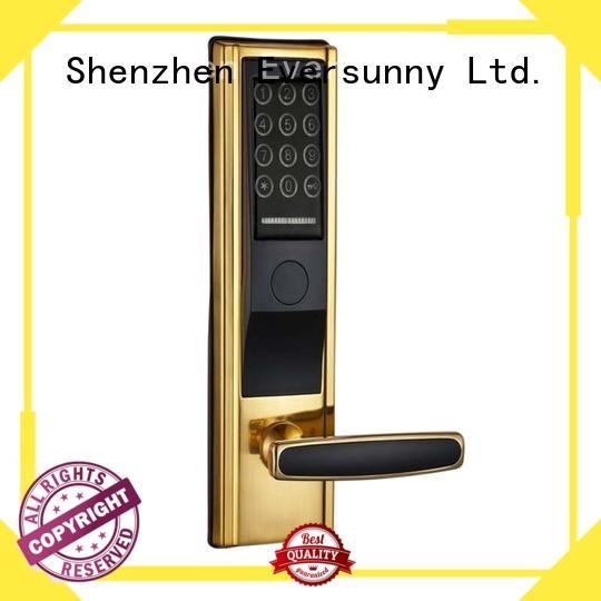 wireless passcode door lock aluminum office Eversunny