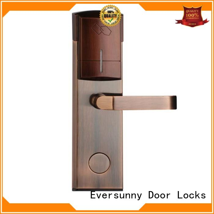 smart electronic card lock system energy-saving for door