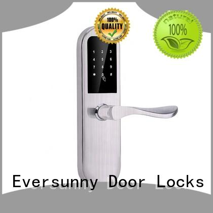 multiple-digit coded lock alloy touch screen for apartment