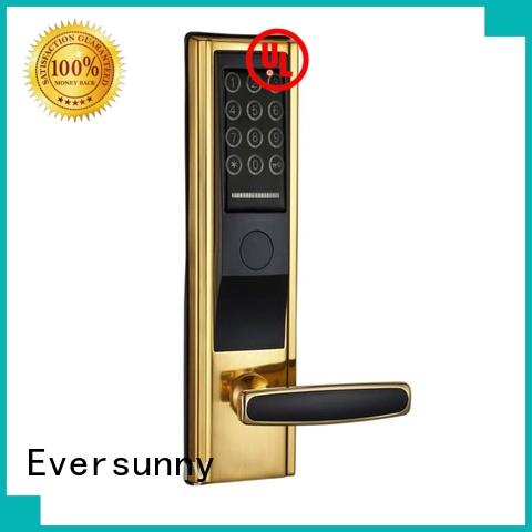 Eversunny keypad key code lock entry home for apartment