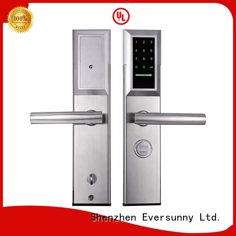 small gate lock with code touch screen for hotel Eversunny