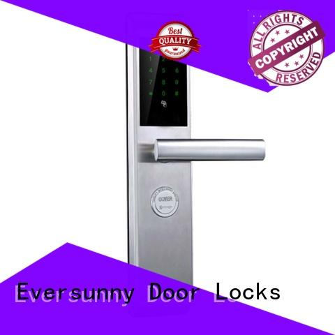 Eversunny multiple-digit gate lock with code touch screen for hotel