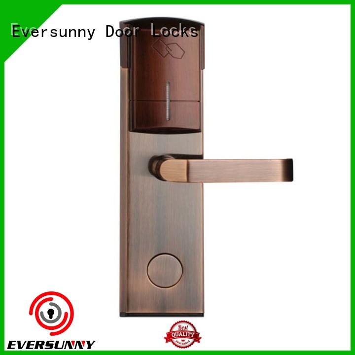 reliable hotel card key system suppliers entry stainless steel for home