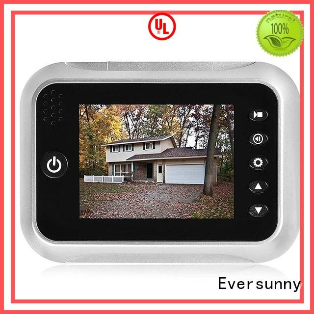 Eversunny angle digital door viewer peephole viewer automatically for Aluminum alloy door