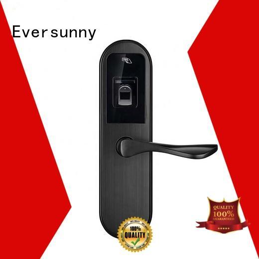 alloy fingerprint door lock system interior rooms for apartment Eversunny