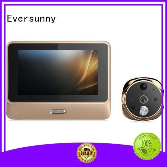 Eversunny smart wifi peephole viewer digital HD for peepholecam