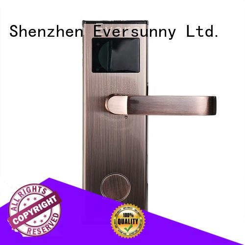 Eversunny electronic card lock system with central management control system for home