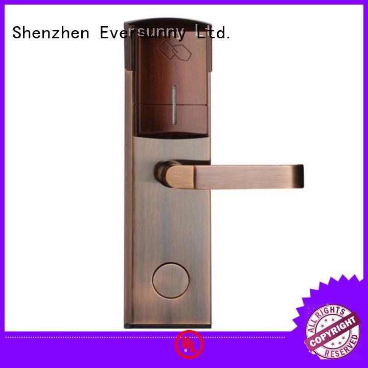 fast card reader door lock card energy-saving for door