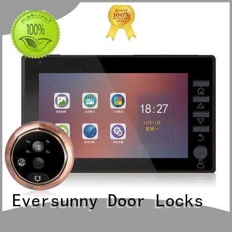 Eversunny digital digital door viewer with motion sensor Energy-saving for apartment