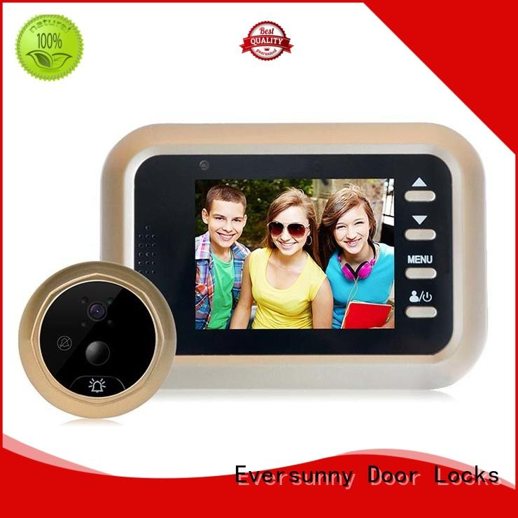 Eversunny Visual Peephole digital door viewer with motion sensor Energy-saving for front door