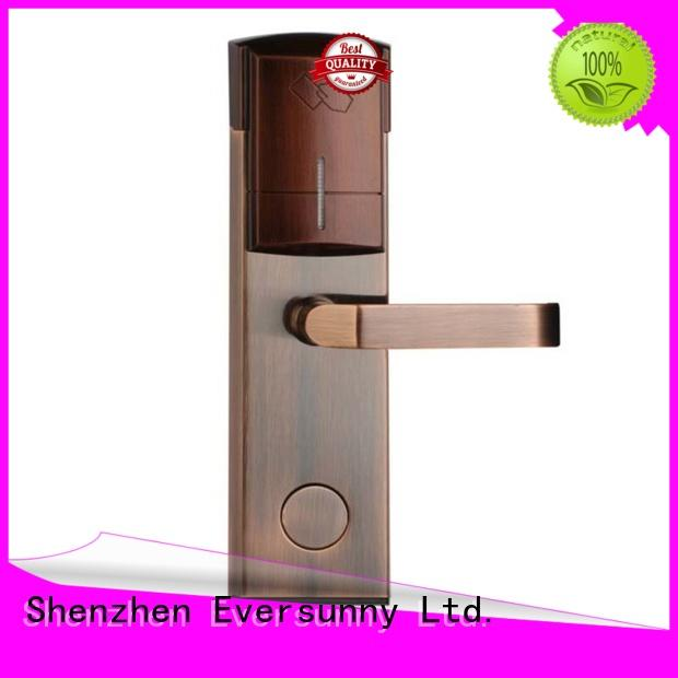 Eversunny fast door access card system hotel smart locks for hotel