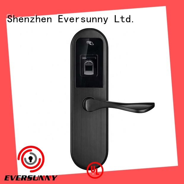 Eversunny smart fingerprint lock handle for office