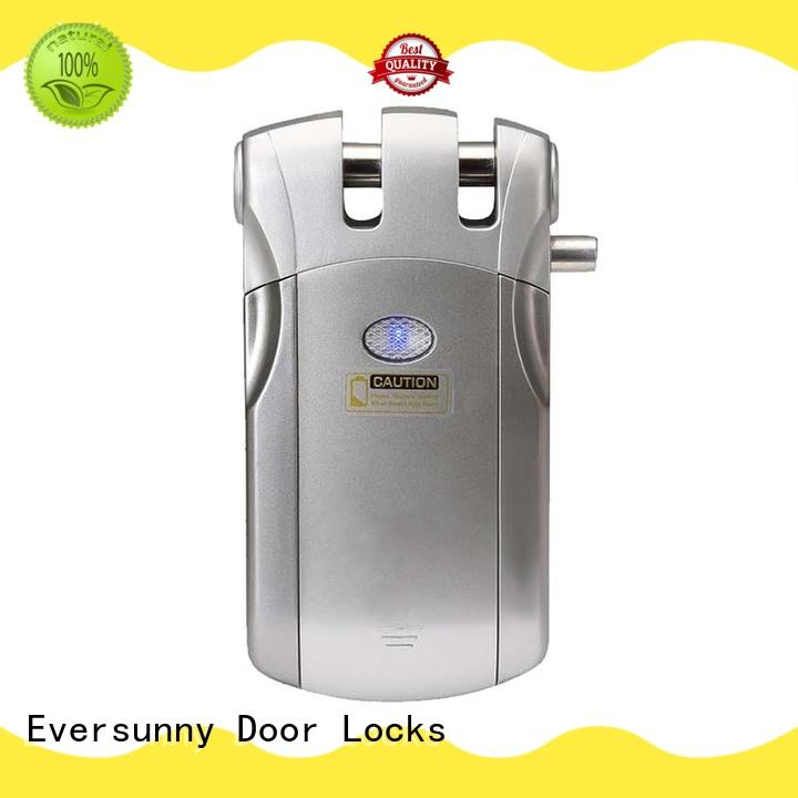 Eversunny smart hidden electronic door locks energy-saving for home