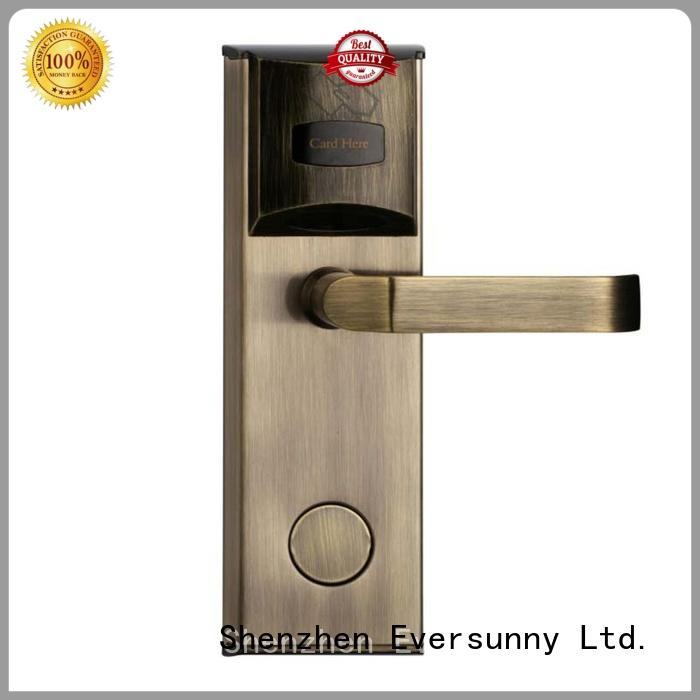 Eversunny reliable key card access locks international standard for apartment