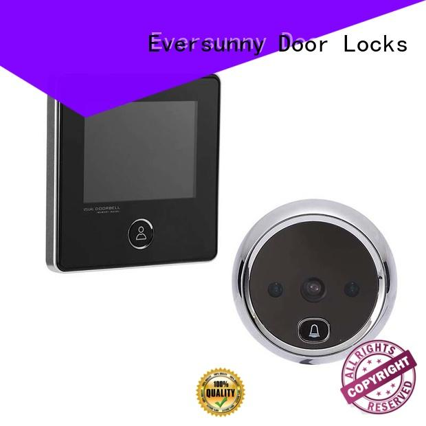 Eversunny smart best digital peephole viewer automatically for broken bridge