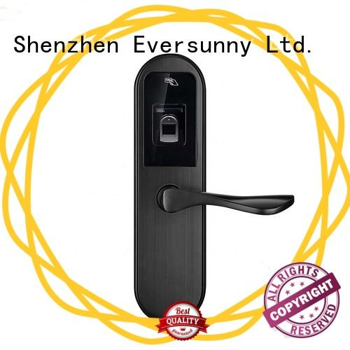 Eversunny fingerprint security rechargeable for apartment