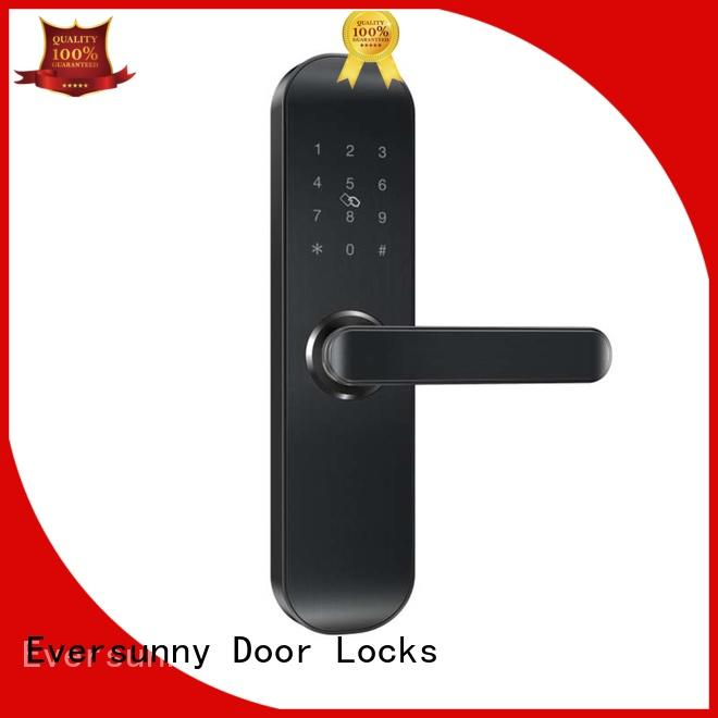 Eversunny front password door lock system energy-saving for office
