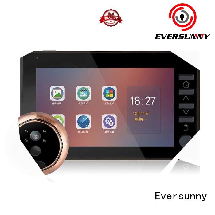 Eversunny door viewer with motion sensor LCD for apartment