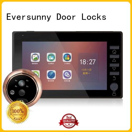 door viewer with motion sensor visual for office Eversunny