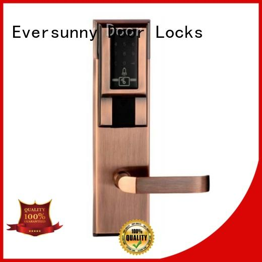 Eversunny keypad digital code lock touch screen for hotel