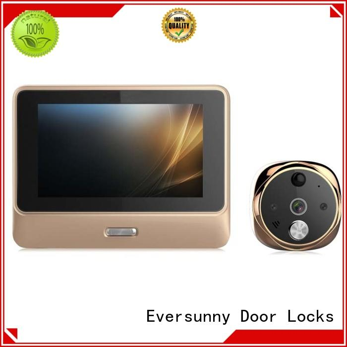 visual peephole camera wifi prevent damage peepholecam Eversunny
