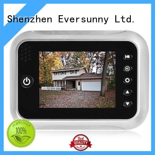 Eversunny digital viewer peephole for Aluminum alloy door