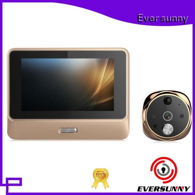Eversunny convenient digital door viewer wifi high reliability for doorbell camera