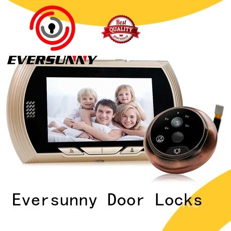 Eversunny control wifi door peephole prevent damage for office