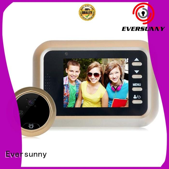 Eversunny cat best digital peephole viewer automatically for Aluminum alloy door