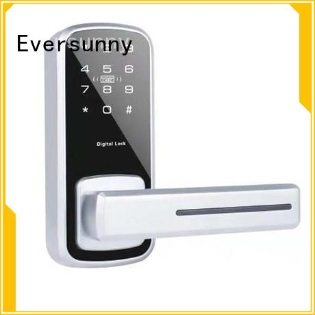 Eversunny alloy password door knob touch screen for door