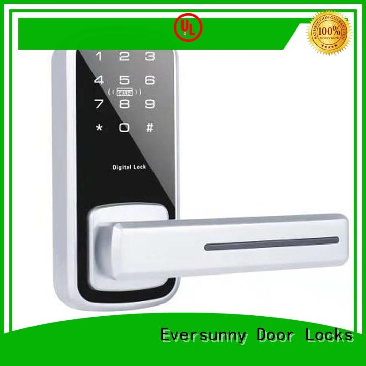 Eversunny front password door lock system touch screen for office