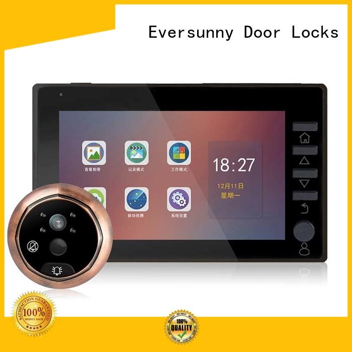 security door viewer with motion sensor LCD for apartment