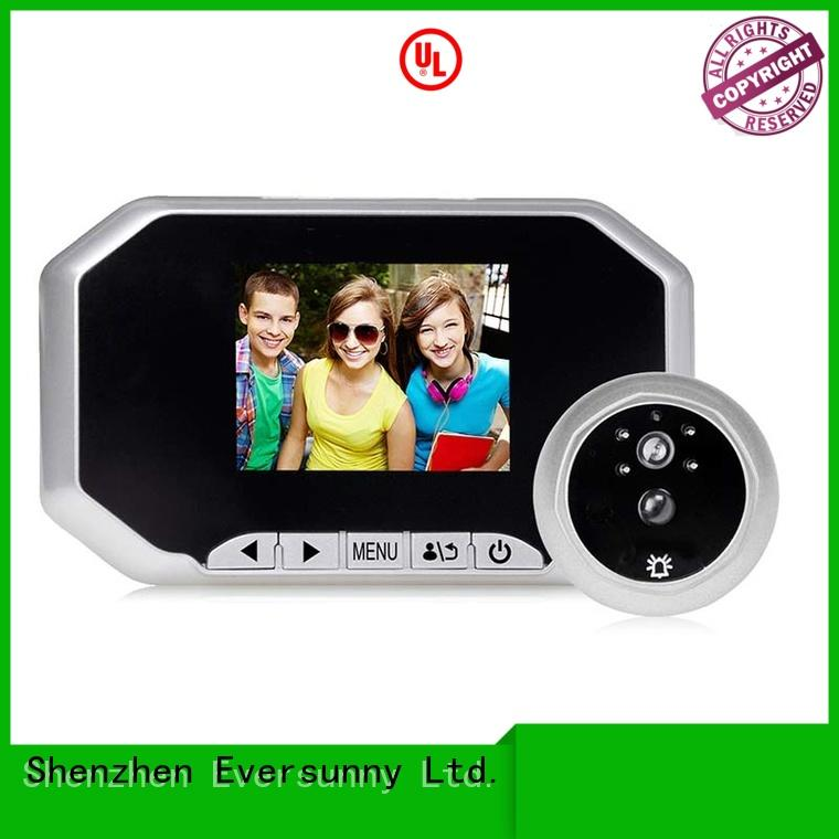 Eversunny professional lcd peephole Energy-saving for home