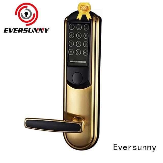 front code lock intelligent entry home for door