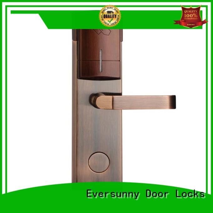 reliable card access door lock system international standard for door