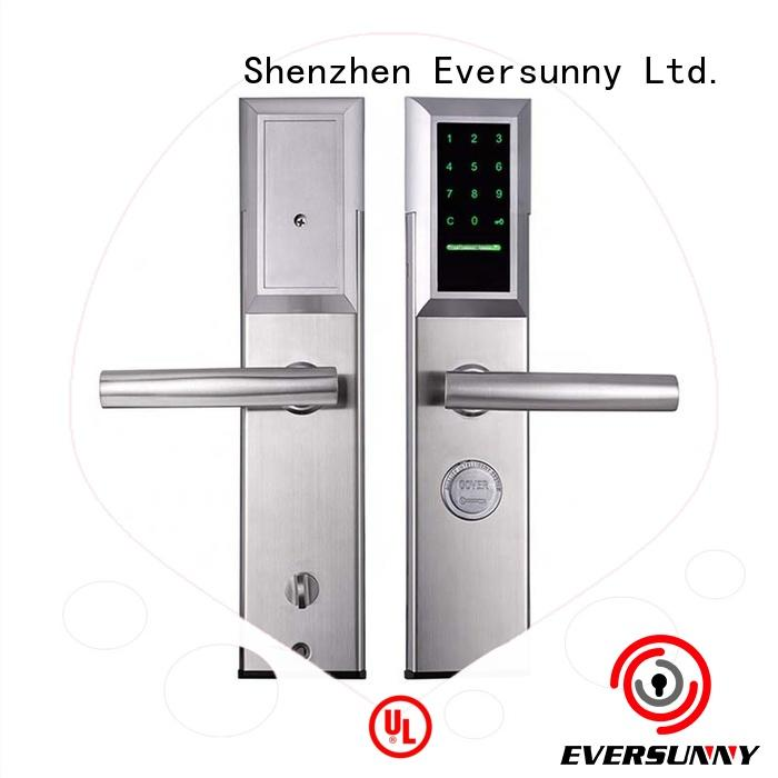 Eversunny keypad security lock energy-saving for door