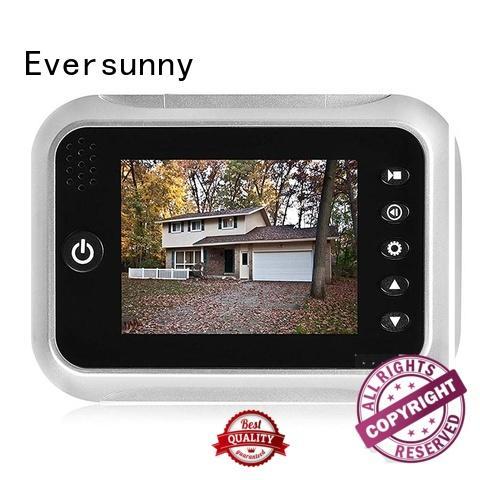 Eversunny lcd digital eye viewer peephole for Aluminum alloy door