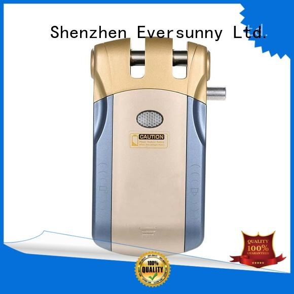 wireless concealed door lock factory price for apartment Eversunny