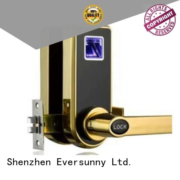 Eversunny fingerprint scanner lock entry system for interior rooms