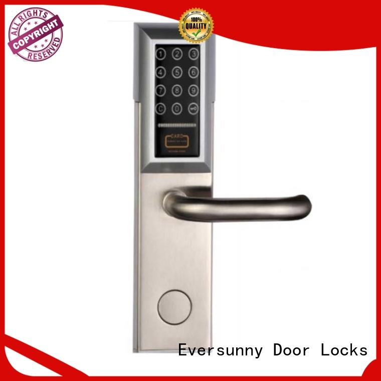 keyless electronic code lock touch screen for door