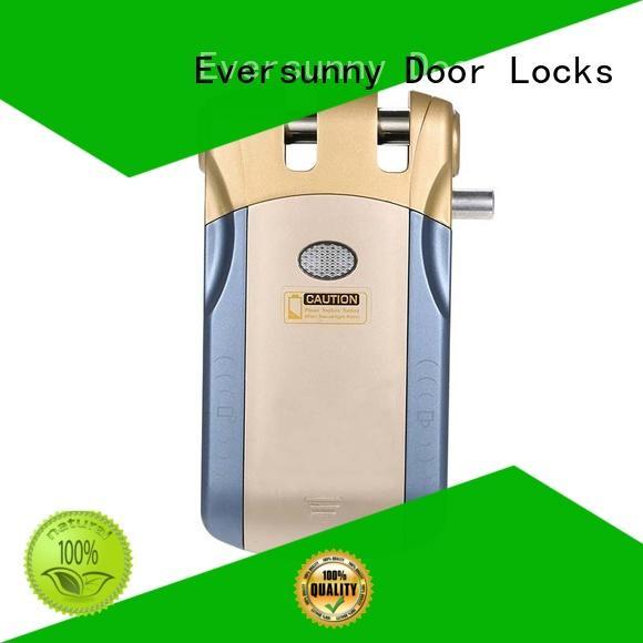 Keyless digital door hidden lock invisible  with touch unlock