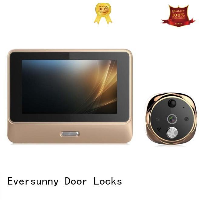 Eversunny control wifi door peephole prevent damage for peepholecam